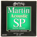 Martin SP Phosphor Bronze Extra Light MSP4000 Acoustic Guitar Strings 010-047